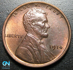 1914 P LINCOLN CENT WHEAT PENNY      MAKE US AN OFFER   P2920