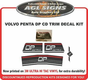 VOLVO PENTA DP  CD TRIM  Stern Drive   Sticker Kit  Outdrive  - EUR 18.08