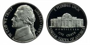 1985 S GEM BU PROOF JEFFERSON NICKEL 5 CENT BRILLIANT UNCIRCULATED US COIN PF