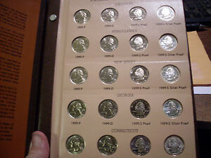 Click now to see the BUY IT NOW Price! 1999/2003 WASHINGTON STATEHOOD QUARTERS   MINT STATE/ CAMEO PROOFS        100