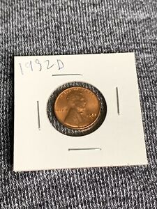 1952 D AMAZING CONDITION PENNY FOR 67 YEARS OLD