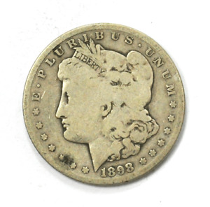 1898 S $1 MORGAN SILVER ONE DOLLAR US SAN FRANCISCO