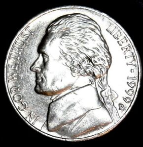 1999P  MULTIPLE ERROR NICKEL. EXCELLENT CONDITION WITH SHARP LETTERING.