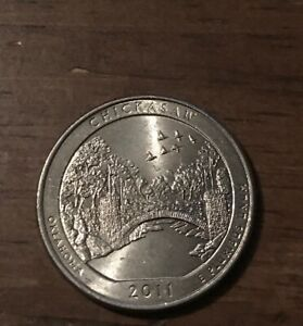 2011 P CHICKASAW NP AMERICA THE BEAUTIFUL QUARTER  BUY 6 GET 40  OFF  1204