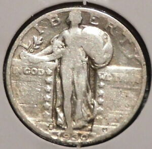 STANDING LIBERTY QUARTER   1930 S   HISTORIC SILVER   $1 UNLIMITED SHIPPING.