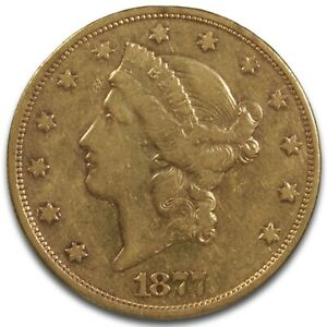 Click now to see the BUY IT NOW Price! 1877 S GOLD DOUBLE EAGLE $20 GOLD COIN BEAUTIFUL & COLLECTIBLE COIN RAW