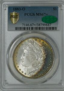 Click now to see the BUY IT NOW Price! 1883 O MORGAN DOLLAR $ MS67  SECURE PLUS PCGS   CAC