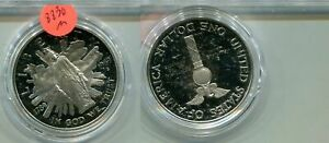 1989 S CONGRESSIONAL SILVER DOLLAR PROOF COIN NO BOX 8830M