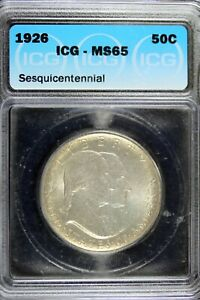 Click now to see the BUY IT NOW Price! 1926   ICG MS65 SESQUICENTENNIAL HALF DOLLAR    HD0088