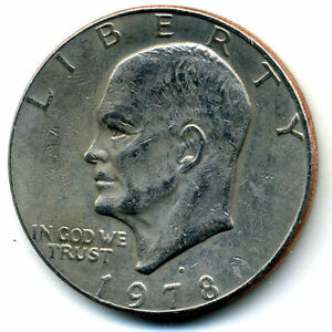 NICE 1978 D EISENHOWER DOLLAR CHOICE BRILLIANT UNCIRCULATED MINT STATE COIN3313