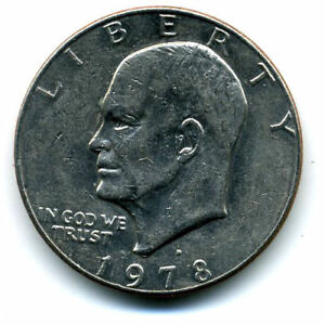 NICE 1978 D EISENHOWER DOLLAR CHOICE BRILLIANT UNCIRCULATED MINT STATE COIN4354
