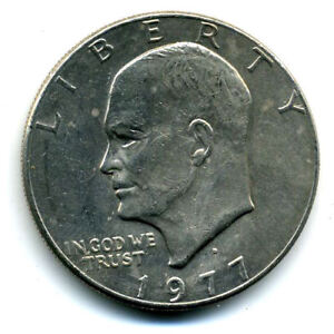NICE 1978 D EISENHOWER DOLLAR CHOICE BRILLIANT UNCIRCULATED MINT STATE COIN4966