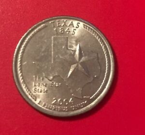 2004 P TEXAS 50 STATES QUARTER   1172  BUY 20 GET 50  OFF
