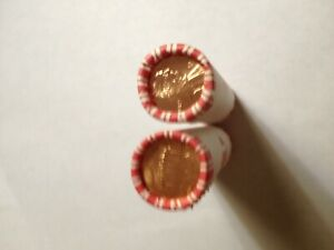 TWO BANK ROLLS 2010 D PENNIES