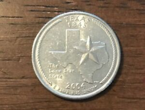 2004 D TEXAS 50 STATES QUARTER   121  BUY 6 GET 40  OFF