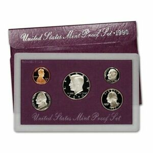 1990 S UNITED STATES PROOF SET OF COINS 1990 BIRTH YEAR SET