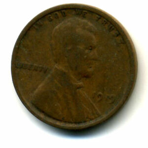 1919 P WHEAT PENNY KEY DATE US CIRCULATED ONE LINCOLN  1 CENT U.S COIN 1570