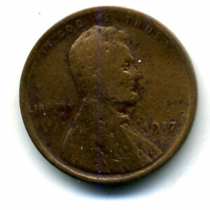 1917 P WHEAT PENNY KEY DATE US CIRCULATED ONE LINCOLN  1 CENT U.S COIN 1572