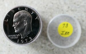 1973 S CLAD PROOF EISENHOWER DOLLAR COINS ROLL $1 US IKE DOLLAR ROLL OF 20 COINS