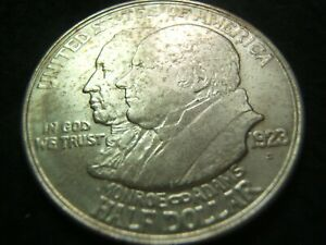 1923 S MONROE DOCTRINE EARLY CLASSIC SILVER COMMEMORATIVE MS   /