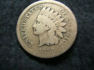 1859 INDIAN HEAD CENT ONE YEAR TYPE G CHEAP     NICE FILLER