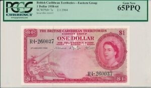 Click now to see the BUY IT NOW Price! EAST GROUP BRITISH CARIBBEAN TERRITORIES  $1 1964  PCGS  65PPQ