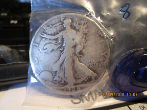 1928 S WALKING LIBERTY HALF VG