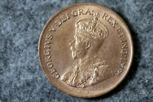 1934   CANADA PENNY ONE CENT COIN    J07279