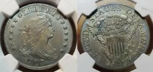 Click now to see the BUY IT NOW Price! 1807 DRAPED BUST QUARTER 25C NGC MS 61 EXCEPTIONAL LOOKS NICER