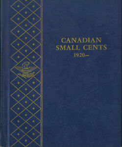CANADA 1920 1964 SMALL CENT COLLECTION 1922/23/24/25/26 KEY DATES WHITMAN HOLDER