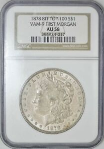 Click now to see the BUY IT NOW Price! 1878 8TF MORGAN DOLLAR $ VAM 9 FIRST MORGAN AU58 NGC 932598 1