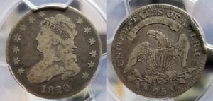 Click now to see the BUY IT NOW Price! 1822 CAPPED BUST QUARTER 25C 25/50C PCGS VG 10 CAC