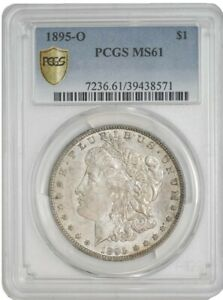 1895O MORGAN DOLLAR $ MS61 PCGS SECURE 942888 1