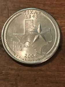 2004 P TEXAS 50 STATES QUARTER   521  BUY 6 GET 40  OFF