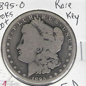 1895 O MORGAN SILVER DOLLAR   DATE  LOW MINT VOLUME