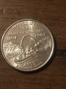 2003 D MISSOURI STATE QUARTER  BUY 6 GET 40  OFF  526