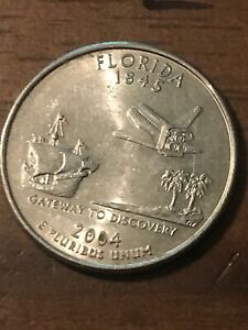 2004 P FLORIDA STATE QUARTER  BUY 6 GET 40  OFF  534