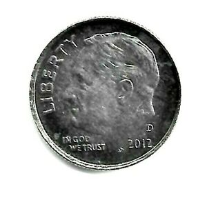 2012 D ROOSEVELT DIME A NICE & SHINY BU COIN FINISH YOUR COIN BOOK 9524