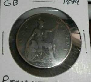 GREAT BRITAIN 1899 PENNY COIN 3