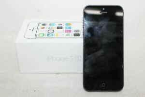 APPLE A1457 IPHONE 5S SILVER 64GB STORAGE NETWORK UNLOCKED MOBILE SMARTPHONE