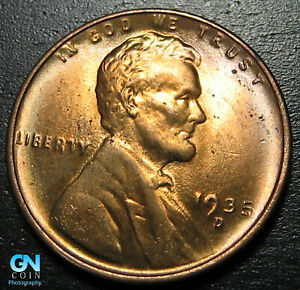 1935 D LINCOLN CENT WHEAT PENNY      MAKE US AN OFFER   B1851
