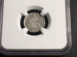 Click now to see the BUY IT NOW Price! 1838 O SEATED NO STARS LIBERTY DIME NGC XF DETAILS