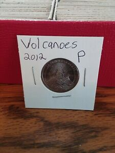 NATIONAL PARK QUARTER VOLCANOES 2012 PHILADELPHIA MINT UNCIRCULATED