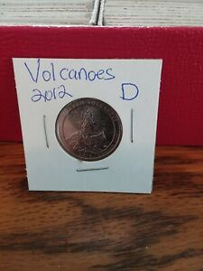NATIONAL PARK QUARTER HAWAII  VOLCANOES 2012 DENVER MINT UNCIRCULATED
