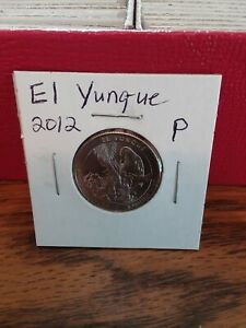 NATIONAL PARK QUARTER EL YUNQUE 2012 PHILADELPHIA MINT UNCIRCULATED