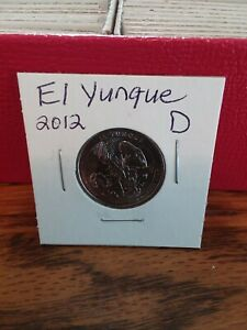 NATIONAL PARK QUARTER EL YUNQUE 2012 DENVER MINT UNCIRCULATED