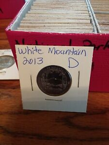 NATIONAL PARK QUARTER WHITE MOUNTAIN 2013 DENVER MINT UNCIRCULATED