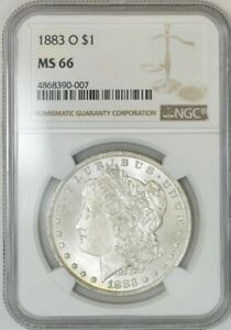 1883 O MORGAN DOLLAR $ MS66 NGC 941326 33