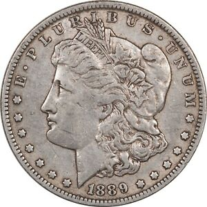 1889 O MORGAN DOLLAR   HIGH GRADE CIRCULATED EXAMPLE