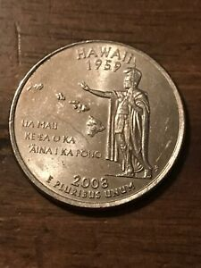 2008 P HAWAII 50 STATES QUARTER  BUY 6 GET 40   OFF IN US   716